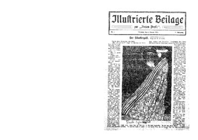 Illustrierte Beilage : zur Freien Presse. 1924-01-01 2. Jg nr 1