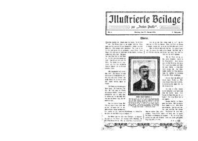 Illustrierte Beilage : zur Freien Presse. 1924-01-20 2. Jg nr 4