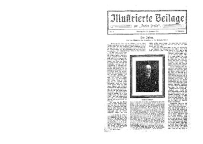 Illustrierte Beilage : zur Freien Presse. 1924-02-24 2. Jg nr 9