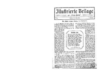 Illustrierte Beilage : zur Freien Presse. 1924-03-16 2. Jg nr 12