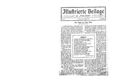 Illustrierte Beilage : zur Freien Presse. 1924-03-23 2. Jg nr 13