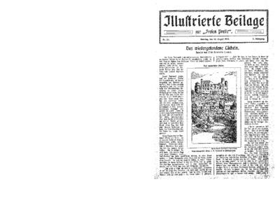 Illustrierte Beilage : zur Freien Presse. 1924-08-10 2. Jg nr 33