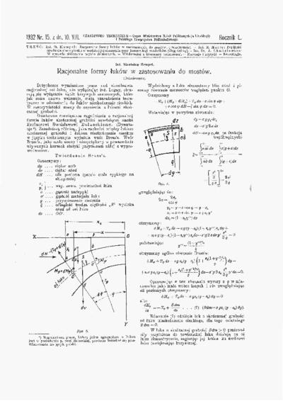Czasopismo Techniczne 1932 nr 15