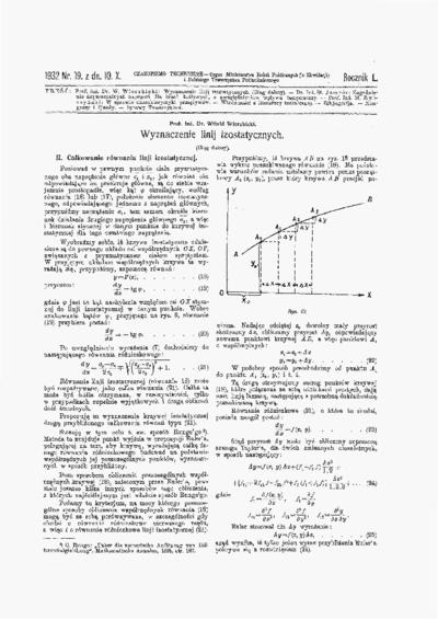 Czasopismo Techniczne 1932 nr 19