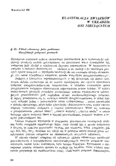Współczesne systemy klasyfikacji związków chemicznych