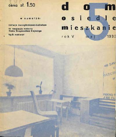 Dom, Osiedle, Mieszkanie 1933 maj