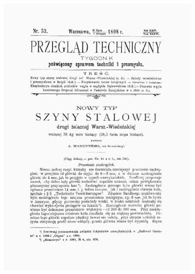 Piśmiennictwo profesora Aleksandra Wasiutyńskiego - zestawienie bibliograficzne i pełne teksty wybranych publikacji