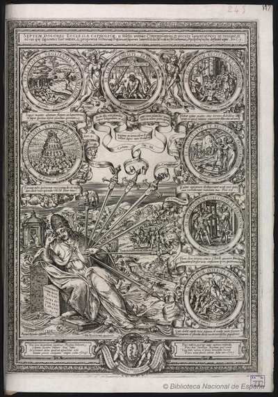 SEPTEM DOLORES ECCLESIAE CATHOLICAE ... [Material gráfico]