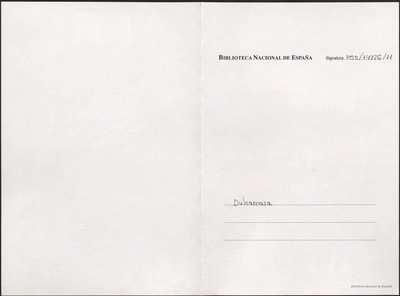 Dulcamara [Manuscrito]: zarzuela en tres actos. Emp.: Grato le es al segador (h. 3)... Fin.: y el cielo le haga tornar (h. 30v)