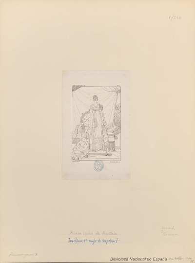 [Retrato de María Luisa, Emperatriz consorte de Napoleón I]