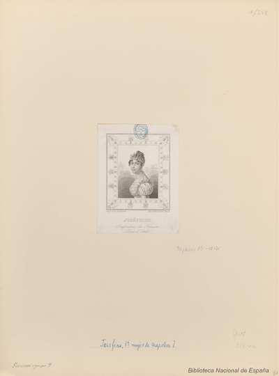 JOSÉPHINE. Impératrice des Français Reine d'Italiel