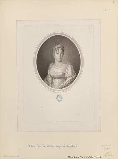 [Retrato de María Luisa de Austria]