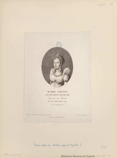 MARIE LOUISE ARCHIDUCHESSE D'AUTRICHE, Impératrice des Français