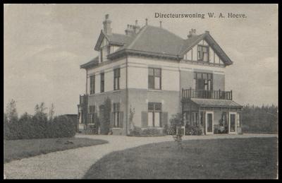 De directeurswoning van de W.-A.-Hoeve.