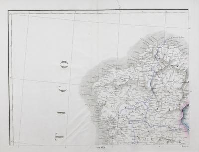 [Mapa del sector noroccidental de la Península Ibérica] [Material cartográfico]