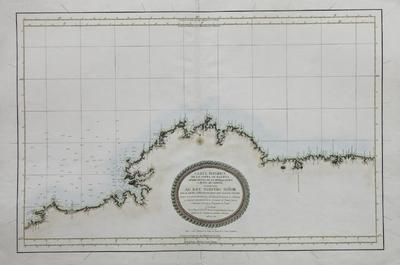 Carta esferica de Costa de Galicia desde Punta de la Buelganegra a Punta de Catasol [Material cartográfico]