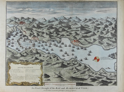 An Exact Draught of the Bay and Harbour of Vigo [Material cartográfico] ]