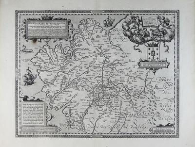 Descripcion del Reyno de Galizia [Material cartográfico]