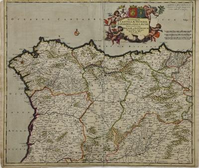 Regnorum Castellae Veteris, Legionis, et Gallaeciae Principatuumq. Biscaiae, et Asturiarum Accuratissima Descriptio [Material cartográfico]