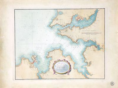 Plano de las rias de Ferrol, Coruña y Betanzos [Material cartográfico]