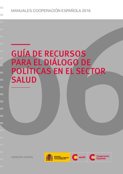 Guía de recursos para el diálogo de políticas en el sector salud