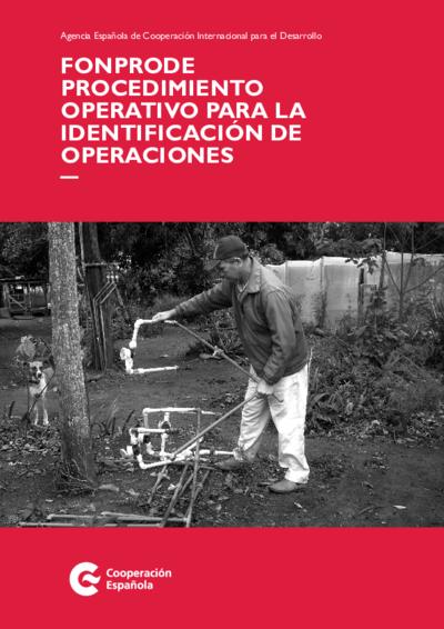 FONPRODE : procedimiento operativo para la identificación de operaciones