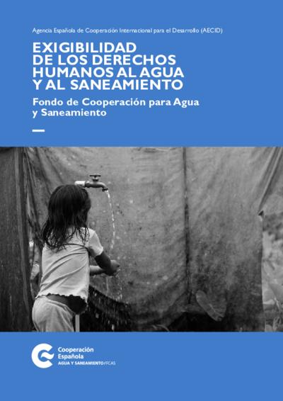 Exigibilidad de los derechos humanos al agua y al saneamiento