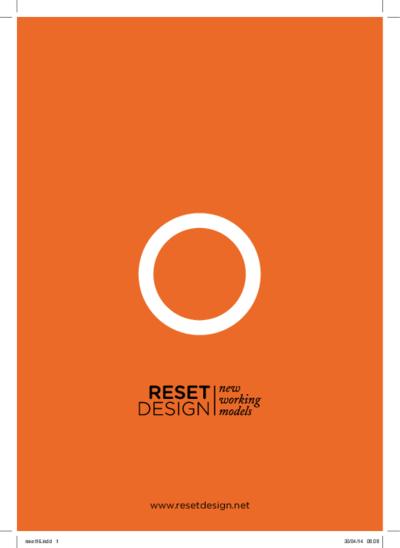 Reset design : new working models