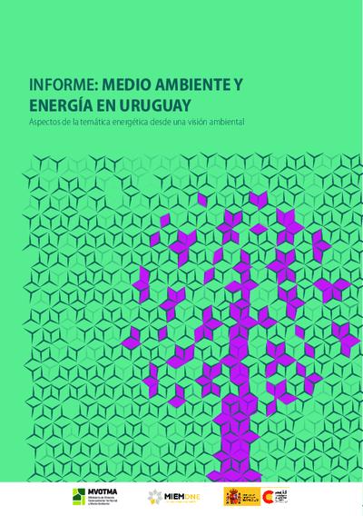 Informe : medio ambiente y energía en Uruguay : aspectos de la temática energética desde una visión ambiental