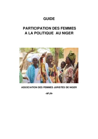 Participation des femmes à la politique au Niger