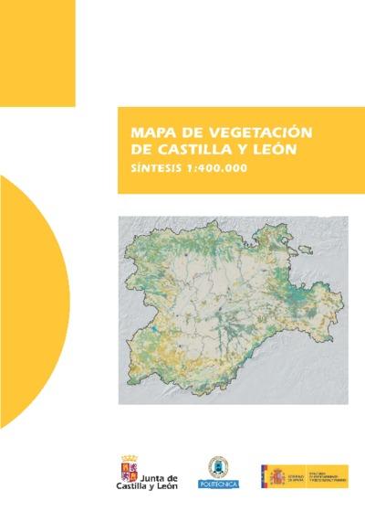 Mapa de vegetación de Castilla y León : síntesis 1:400.000