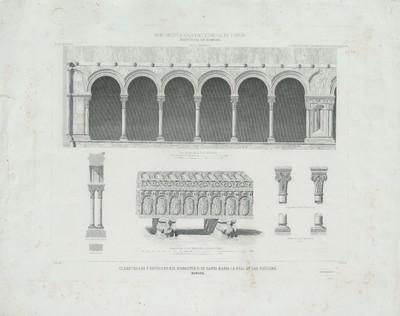 Claustrillas y sepulcro del Monasterio de Santa María la Real de Las Huelgas (Burgos) [Material gráfico]