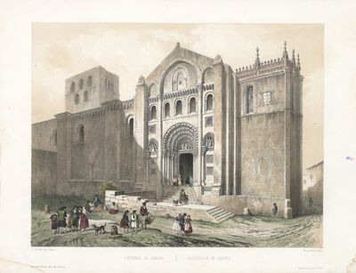 Catedral de Zamora [Material gráfico] ]= Cathédrale de Zamora