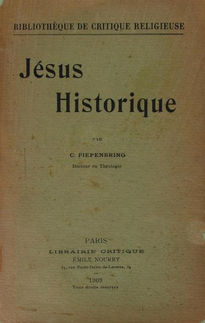 Jesus historique