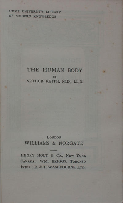 <The >human body