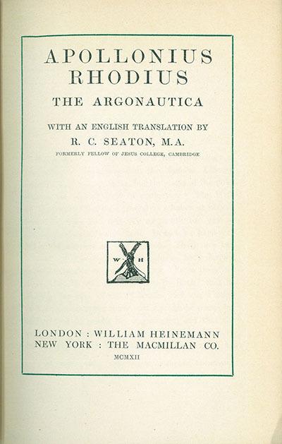 <The >argonautica