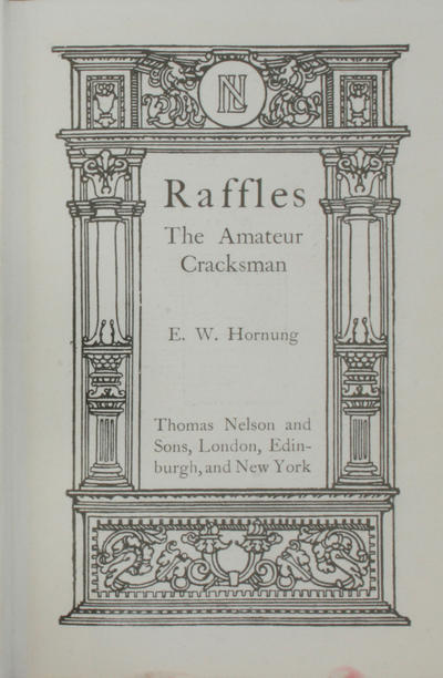 Raffles: <the >amateur cracksman