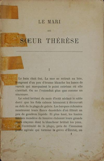 <Le >mari de soeur Thérèse