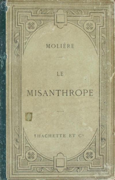 <Le >misanthrope: comédie