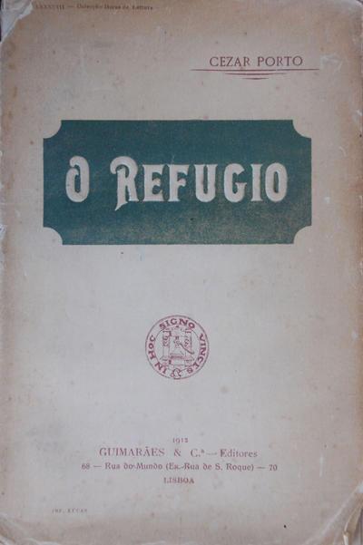 <O >refúgio