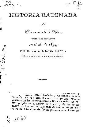 Historia razonada del Cólera-morbo de la India, observado en Oviedo en el año de 1834