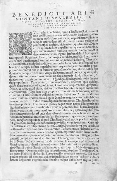 [Novum Testamentum graece : cum vulgata interpretatione latina graeci contextus lineis inserta ...