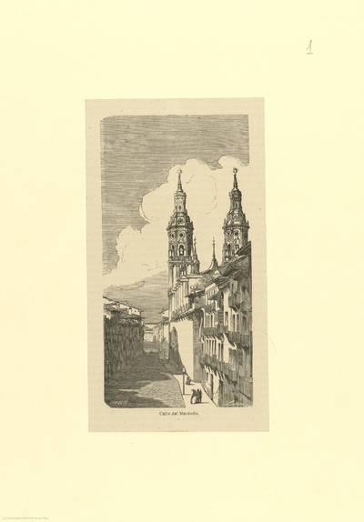 Calle del Mercado [Logroño] [Material gráfico]