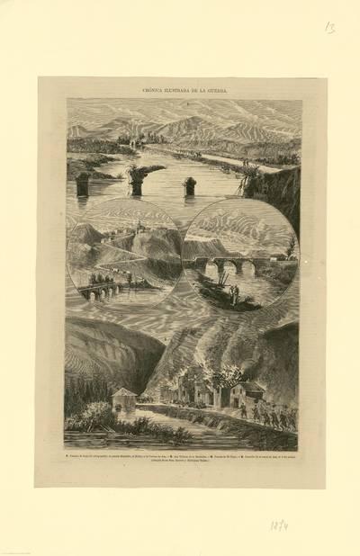 Crónica ilustrada de la guerra [Material gráfico]