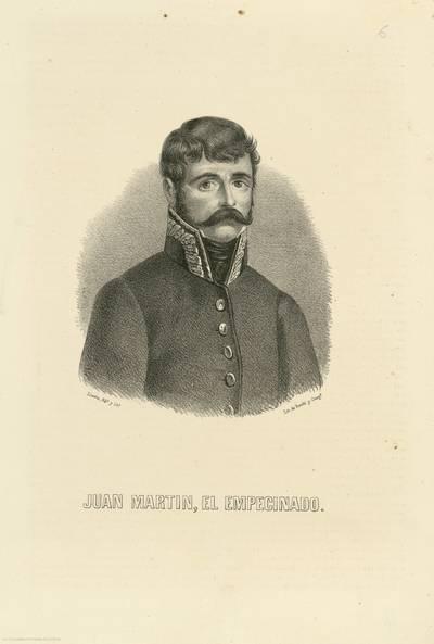 Juan Martin, el Empecinado [Material gráfico]