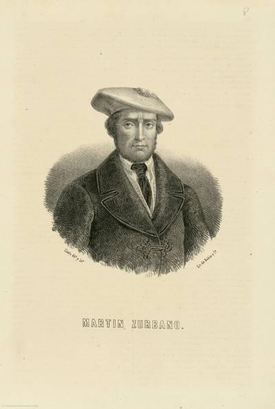 Martín Zurbano [Material gráfico]