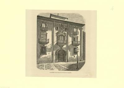 Casa donde vive el duque de la Victoria en Logroño [Material gráfico]