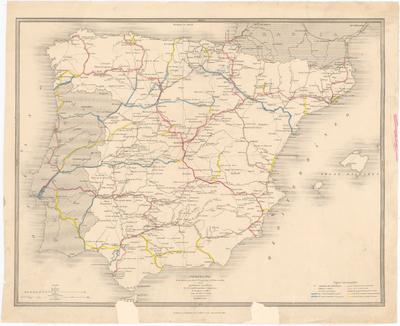 Proyecto de las lineas generales de Navegacion y de Ferro-carriles en la Península Española