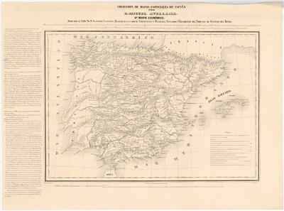 Mapa Económico [de España]