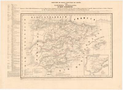 Mapa Eclesiástico [de España]